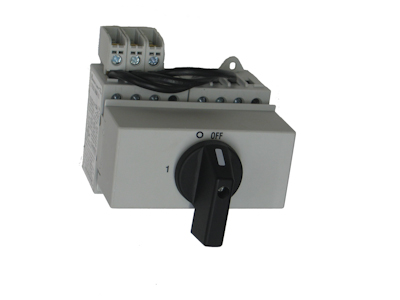 Rotary change over 1-0-2 switches