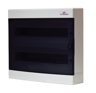 Wall-mounted plastic boards IP40