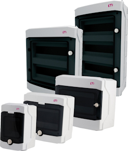 Wall-mounted plastic boards IP65