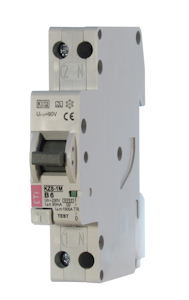 Residual and overcurrent protection RCBO