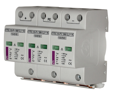 Surge arresters for PV