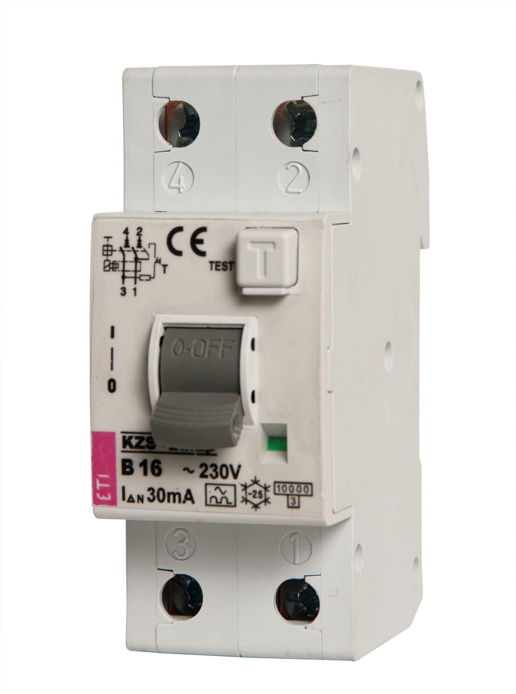 Rcbo Kzs 2m2p Eti Portable Circuit Breaker Rated Short Capacity 10ka