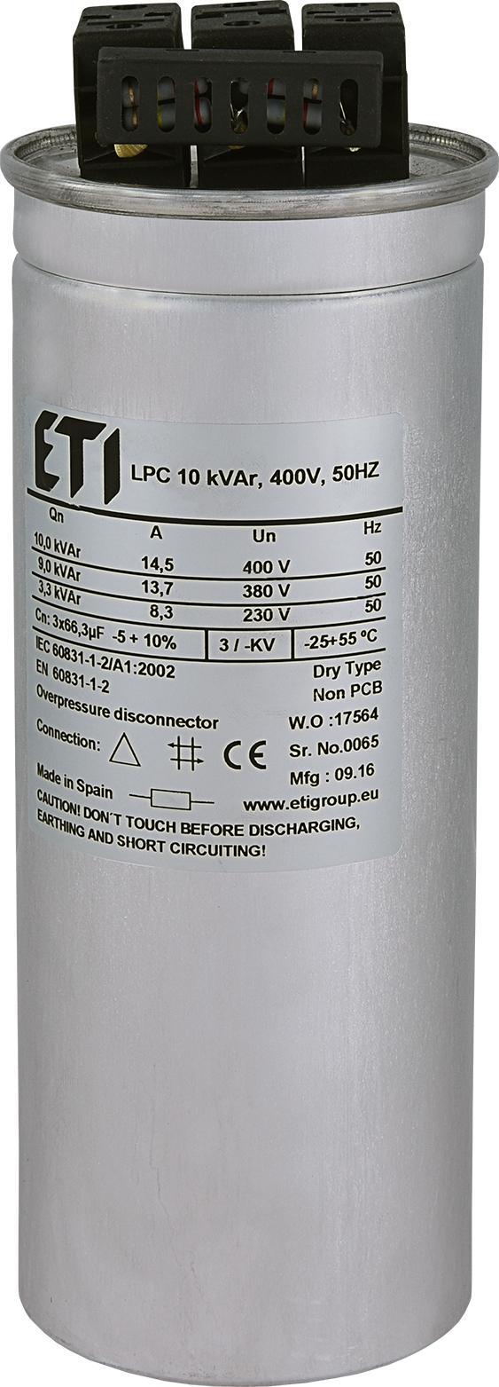 Lpc 10 Kvar 400v 50hz Etigroup